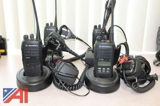 Motorola HT 750 & HT 1250 Portable Radios