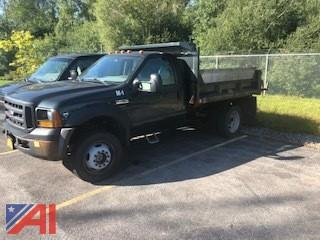 2006 Ford F450 XL Super Duty Dump Truck