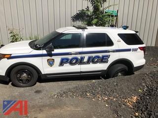 2013 Ford Explorer 4 Door/ Police Vehicle