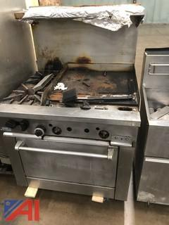 Sunfire Grill, Broiler Stove Combo