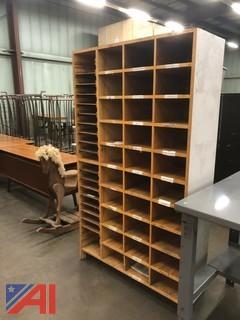 Wood Storage Units