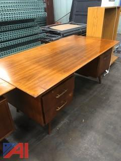 Desk with Credenza