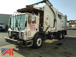 2007 Mack MR600 Front Load Garbage Truck