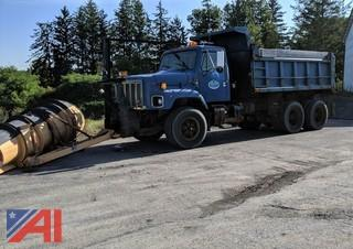 1998 International 2674 Dump Truck with Plow