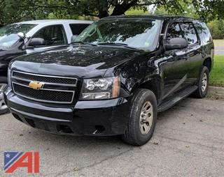 2012 Chevy Tahoe Suburban/Police Package