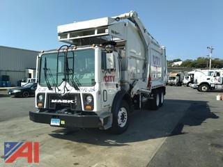 2008 Mack MR600 Front Loader Garbage Truck