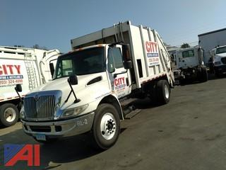 2004 International 4000 Rear Loader Garbage Truck