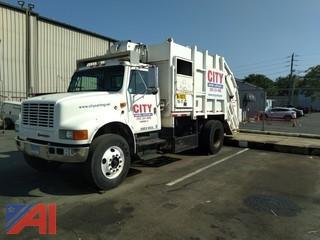 1996 International 4000 Rear Loader Garbage Truck