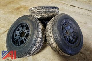 Firestone LT285/70R17 Tires & Rims
