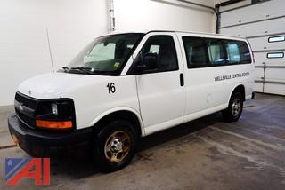 2005 Chevy 1500 Express Cargo Passenger Van