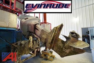 Evinrude #VRO V6 Outboard Motor