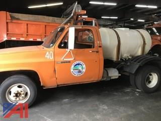 1989 GMC Sierra C/K 3500 Cab and Chassis