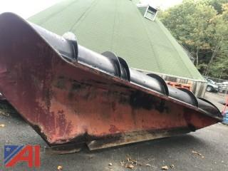 11' Tenco One Way Plow with Frame