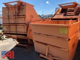 Self-Dumping Forklift Hopper
