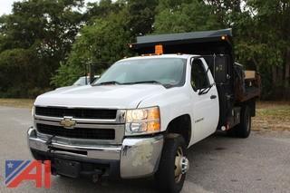 2008 Chevy Silverado 3500HD 1/2 Ton Dump Truck