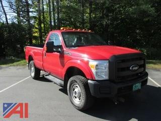 2011 Ford F350 XL Super Duty Pickup Truck with Plow and Lift Gate
