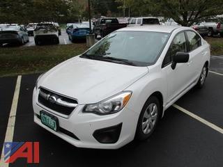 2013 Subaru Impreza 4 Door