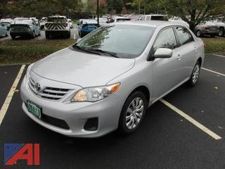 2013 Toyota Corolla 4 Door