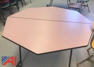 Octagon Lunch Tables