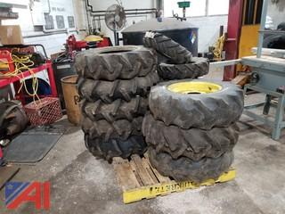 Tractor Tires on Rims