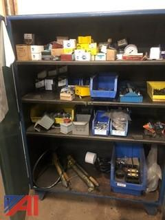 Industrial Heavy Duty Cabinet with Contents