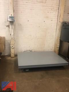 Floor Platform Scale