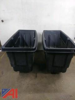Rubbermaid Dump Hoppers
