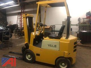 Yale Pneumatic Gas Forklift