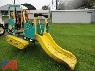 Bull Dozer Play Ground Slide