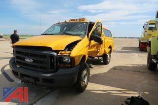 2007 Ford F250 Super Duty Pickup Truck with Cap (Parts Only)