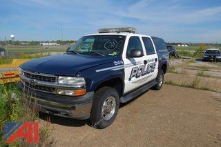 (#544) 2005 Chevy 2500 Suburban/Police Vehicle