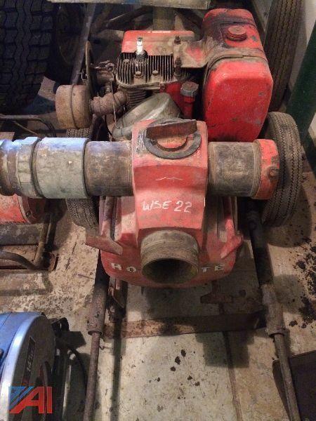 R9689 Image For Item Homelite 3 Trash Pump