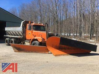 2000 Volvo - AutoCar ACL 64B Dump Truck with Plow and Wing (NO SANDER)