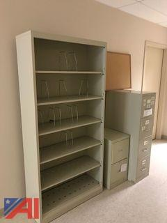 Metal File Cabinets and Storage Cabinet