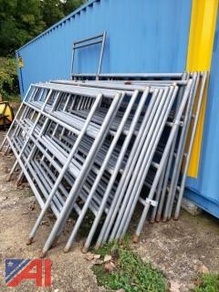 Galvanized Livestock Fence Panels
