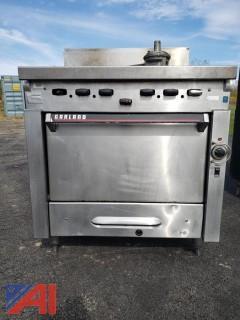 Garland Gas Single Oven Range