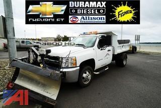 2010 Chevy Silverado 3500HD Dump & Plow Truck