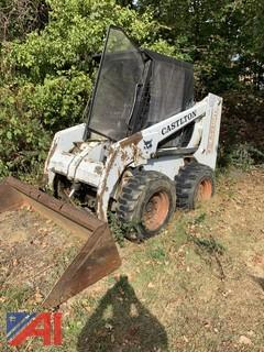 **Reserve has been lifted.** 1995 Bobcat 853 Skid Steer