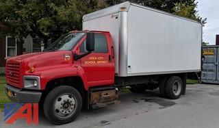 2008 GMC C6500 Box Truck with Lift