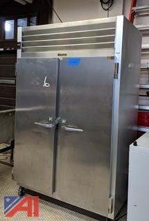 SS Traulsen 2-Door Refrigerator