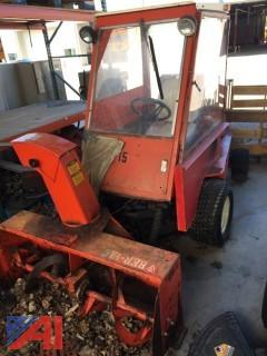 """Jacobson Turfcat T422D with 48"""" Snow Blower"""