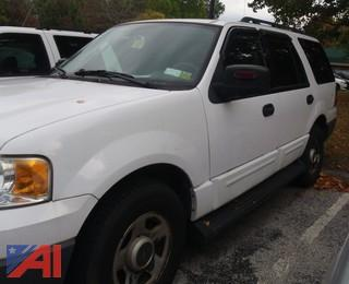 (#34) 2005 Ford Expedition SUV/Police Vehicle