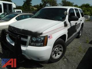 (#2) 2012 Chevy Tahoe SUV/Police Vehicle