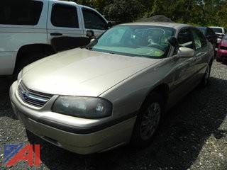 (#3) 2004 Chevy Impala 4 Door