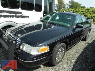 (#4) 2005 Ford Crown Victoria 4 Door/Police Interceptor
