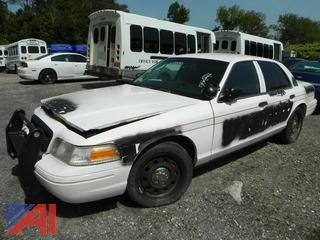 (#13) 2011 Ford Crown Victoria 4 Door/Police Interceptor