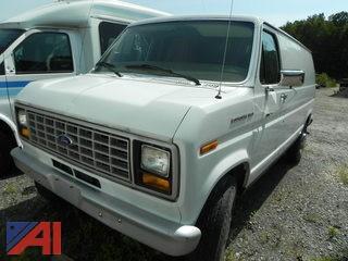 (#16) 1987 Ford Econoline E350 Van