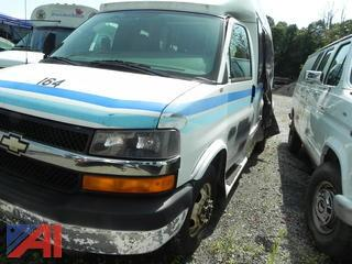 (#17) 2009 Chevy Express LS 3500 Bus