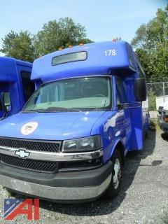 (#20) 2012 Chevy Express G4500 Bus