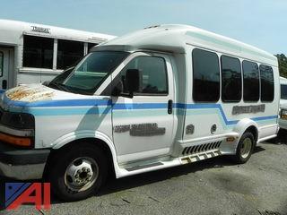 (#24) 2009 Chevy Express LS 3500 Wheelchair Bus